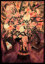 Bridal Bouquet still life floral painting