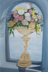 Everlasting, figure painting, oil on canvas