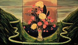 Flower Dream Song still life floral painting